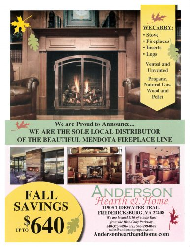Regency Fall Savings Special Anderson Hearth Amp Home