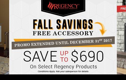 2017 Regency Fall Promotion