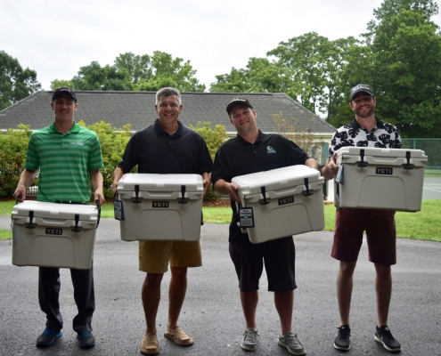 Golf Tournament Winners and their prizes